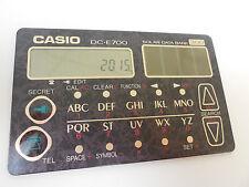 CASIO SOLAR DATABANK CARD CALCULATOR DC-E700BK SLIM DESIGN DC-E700 JAPAN NIB