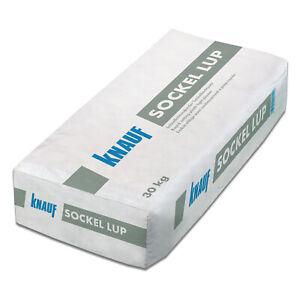 KNAUF Sockel LUP Sockelleichtputz Kalkputz Leichtunterputz Keller 30kg 1,5mm