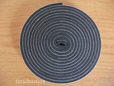 5m Black Foam Draught Excluder Tape Single Sided Closed Cell 10mm Wide x 3mm