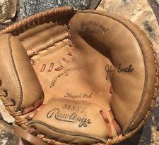 Rawlings Baseball Glove RHT MJ57 Johnny Bench Professional Model DeepWell Pocket