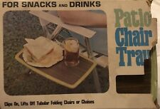 Vintage Cheinco Housewares Patio Chair Tray (In Original Packaging)