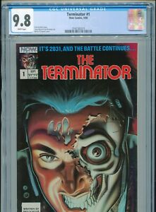 1988 NOW COMICS TERMINATOR #1 1ST APPEARANCE IN COMICS ONLY 28 CGC 9.8 GRADED