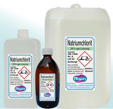 Natriumchlorit 25%ig  500ml  1000 ml   6 Liter 10 Liter