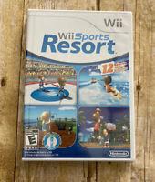 Wii Sports Resort Nintendo Wii 2009 Brand New Video Games Sealed