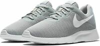 Nike Mens Tanjun Running Shoes Gray Lace Up Low Top Sneakers AQ3555-003  New