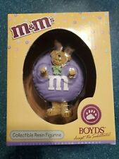 2005 Boyds M&M's Purple Collectible Resin Figurine Style #919005