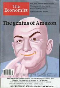 THE ECONOMIST WEEKLY MAGAZINE, THE GENIIUS OF AMAZON  JUNE, 20th - JUNE, 26 2020