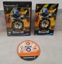 Robot Wars: Arenas of Destruction PS2 great condition with book