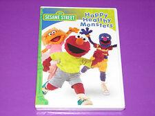 Sesame Street - Happy Healthy Monsters (DVD, 2005)    ***NEW SEALED***