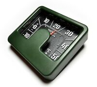 HR-IMOTION History Bimetall Thermometer Relief Skala 6 x 5 cm selbstklebend