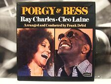 RAY CHARLES & CLEO LAINE - PORGY & BESS BOX 2 LP + BOOKLET + INSERT ITALY PRESS