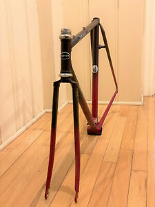 """Superb Dawes 21"""" Reynolds 531 Road Bike Frame & Fork Original Paint, Decals!"""