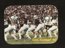 Southwest Missouri State Bears--1984 Football Pocket Schedule--Coors