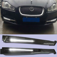 2x LED DRL Driving Daytime Running Day For Jaguar XF 2008-2010 Fog Lamp Lights