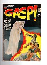 "GASP! #2 1967 ACG COMICS HORROR ""VENGEFUL GHOST""  Cool Cover"