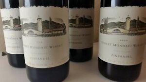 4 Flaschen 2000 Zinfandel Robert Mondavi Winery Napa Valley 0,75 l Rotwein *RAR*