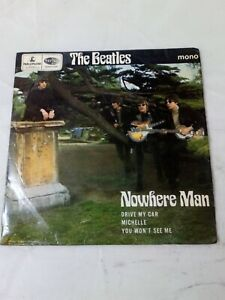 """The Beatles EP """"Nowhere Man"""" First Press with """"Sold in UK"""", Rare GEP 8952"""