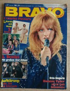 Bravo 17/1978 - Bonnie Tyler - ABBA - Beatles - Virgin - Smokie - Tina York