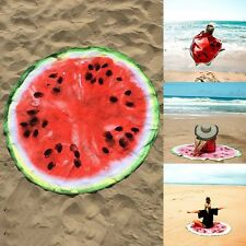 150cm Strandtuch Wassermelone Badetuch Handtuch Saunatuch Tuch Schal Quaste