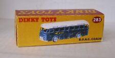 Repro Box Dinky Nr.283 BOAC Bus
