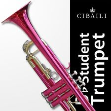Pink Cibaili Bb Trumpet • BRAND NEW • Education Approved Quality