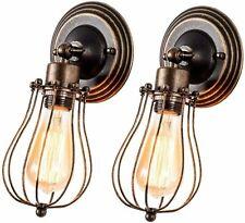 Rustic Wall Sconce Industrial Light Retro Metal Barn Lamp Indoor Vintage Fixture