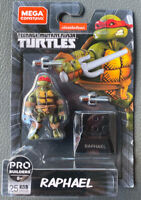 "New Mega Construx TMNT Teenage Mutant Ninja Turtles 2"" RAPHAEL Wave 2 Free Ship!"