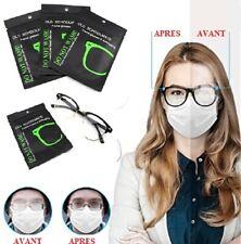 Lingette microfibre anti-buée pour lunettes réutilisable