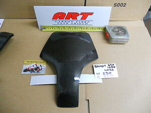 SUZUKI 650 1250 BANDIT 2005 ON - CARBON TANK SHIELD COVER PROTECTOR NEW £19.99
