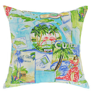 Paradise Tropics Cushion Cover - 45x45cm