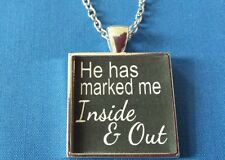 and Out * Owned Kinky Lifestyle Bdsm Jewelry Necklace Collar * Marked Inside