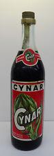 1L= 39 €  - CYNAR Aperitivo 1L uralte Flasche ohne Barcode ungeöffnet