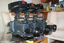 Hitachi Z-4500W Video Camera Studio Set 16x9 SDI