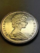 1867-1967 Canada Centennial Silver Half Dollar BU+ Toned #6615