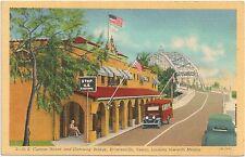 U.S. Custom House and Gateway Bridge in Brownsville TX Postcard