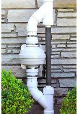 Radon Mitigation Fan Kit 4 in. Fan couplers Air Pressure Indicator Sub Slab