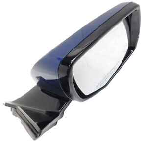Side View Mirror RH in Opulent Blue New OEM GM Arabic 2014 Cadillac CTS 23105634