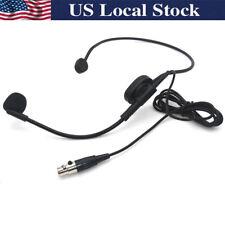 Hqrp Mikrofon Adapter Kabel für Shure PG1 PGX1 Pgx-D PGXD1 Qlx-D QLXD1 SC1 Slx