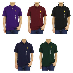 Polo Ralph Lauren Big Pony Classic Fit Short Sleeve Polo Shirt -- 5 colors --