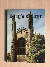 KING'S COLLEGE AND ITS CHAPEL  JOHN SALTMARSH  Published by JARROLD (1957)