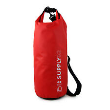 Buhbo Waterproof Dry Bag for Kayaking Gym Canoe Duffle Camping, 10 Liter Red