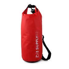 Buhbo Waterproof Dry Bag for Kayaking Gym Canoe Duffle Camping, 10 Liter Red