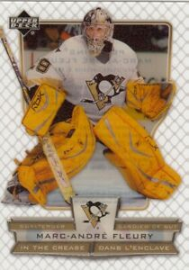 MARC-ANDRE FLEURY NO:ICMF IN THE CREASE in UPPER DECK McDONALD 2007 near mint