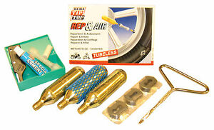 Motorcycle PUNCTURE REPAIR KIT TUBELESS TYRE MOTORCYCLE SCOOTER MX