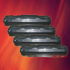 4 Toner Cartridge CB436A 36A for HP LaserJet P1505