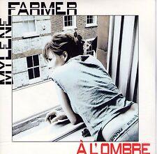CD CARTONNE CARDSLEEVE 2T MYLENE FARMER A L'OMBRE 2T 2012 NEUF SCELLE