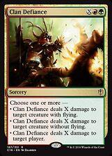 *MRM* ENG 4x Clan Defiance - Défiance du clan  MTG Com 2016