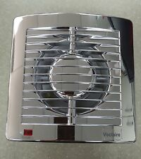 Vectaire AS10HTCR CHROME Humidistat Timer Extractor Fan Bathroom Shower Ceiling