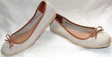 Womens Natural Wheat COACH Espadrilles Flats Sneakers Shoes Sz 8