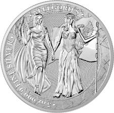 Germania 2019 25 Mark The Allegories – Columbia & Germania 5 Oz 9999 Silver Coin